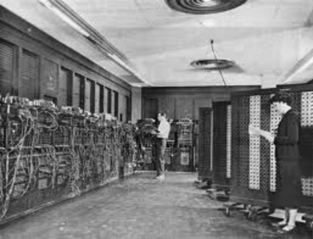 Invention of ENIAC