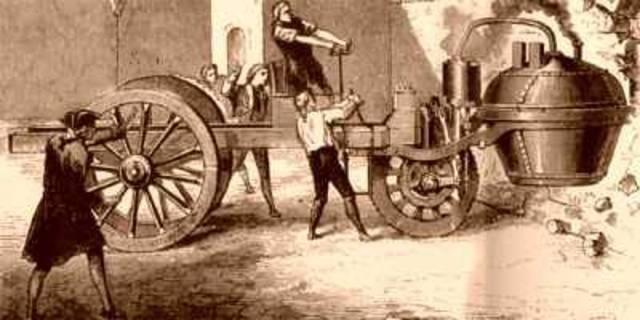 1st Self-Propelled Road Vehicle