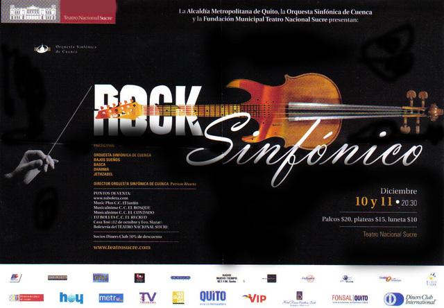 Musica Rock sinfonico