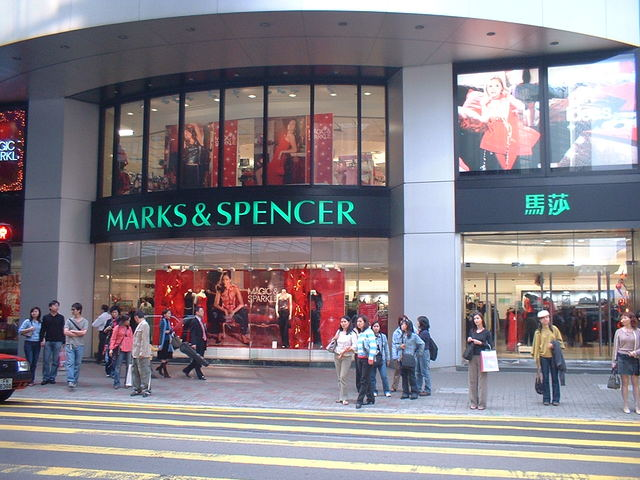 Marks and Spencer's.