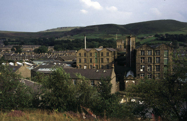 Marsden Silk Mill.