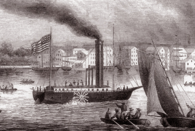 The First Commercial Steamboat
