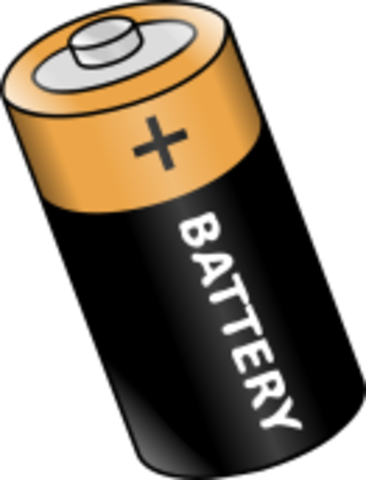The first conventional battery is invented.