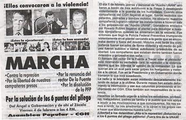 Movimiento de la UNAM