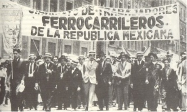 Movimiento ferrocarrilero.