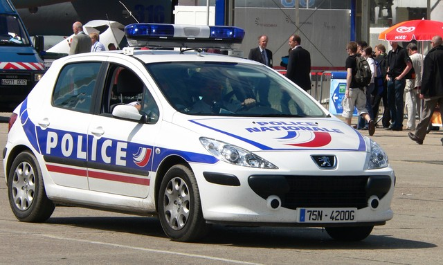 Arrested by French Police