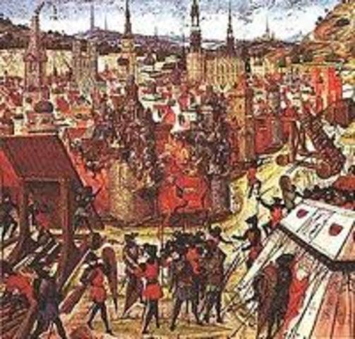 The First Crusade Begins