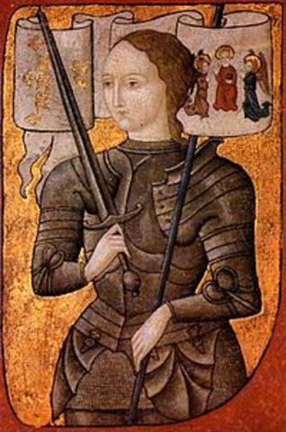 The capture of Joan of Arc