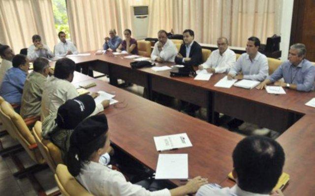 Inicio de conversaciones en Cuba