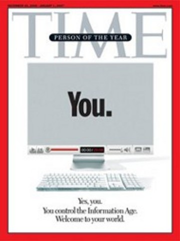 """""""You"""" on Time Magazine"""