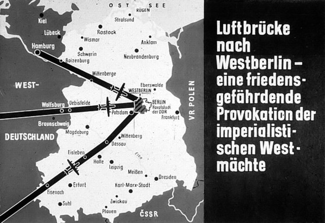 Berlin Blockade Begins