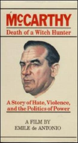 Joe McCarthy begins communist whitch hunt