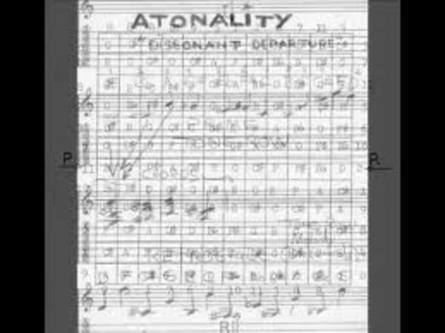 First atonal pieces