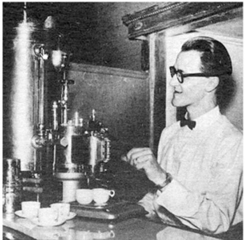First Espresso Machine