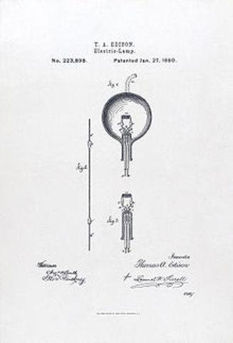 Light Bulb- Thomas Edison