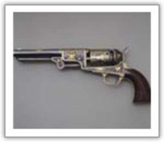 Colt Revolver, first revolving firearm