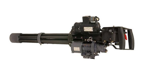 Gatling gun was invented