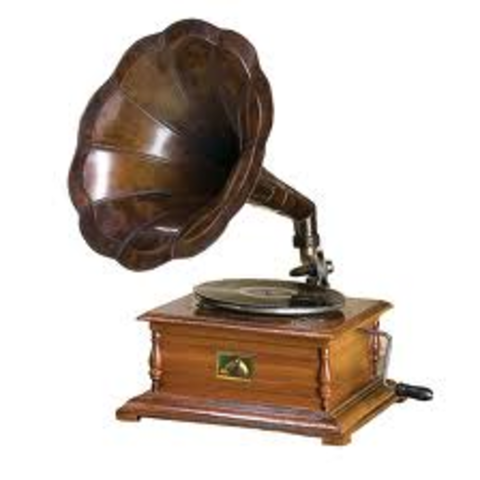 Vinyl record invented
