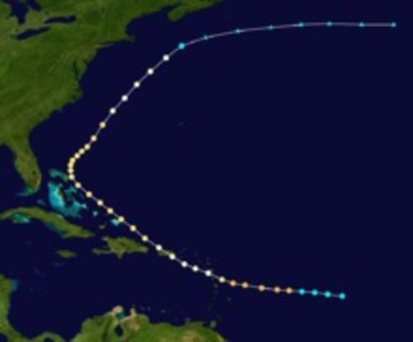 Hurricane-Santa Clara (Betsy)