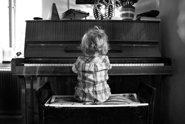 Learned to play the piano