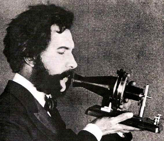 Alexander Graham Bell patents the telephone.