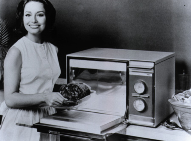 Microwave oven is invented