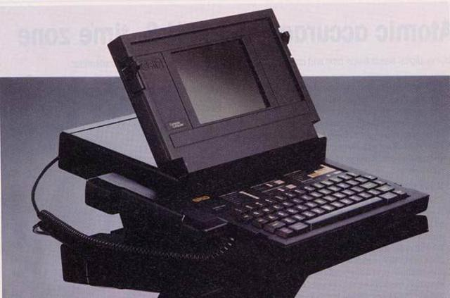 The first Laptop was invented