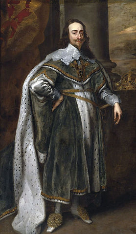 Charles I beomes King of England