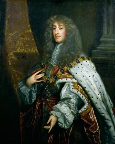 James II became King of England