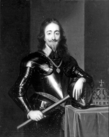 Charles I is beheaded for High Treason charged by the Rump Parliament