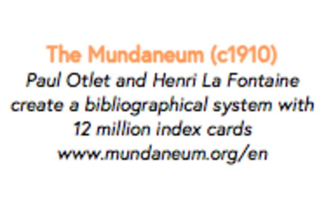 The Mundaneum