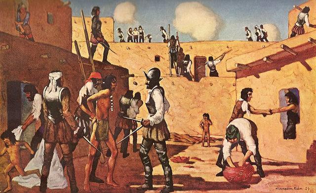 II Fase de la Conquista (1560 - 1573)