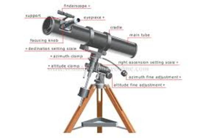 The reflecting telescope