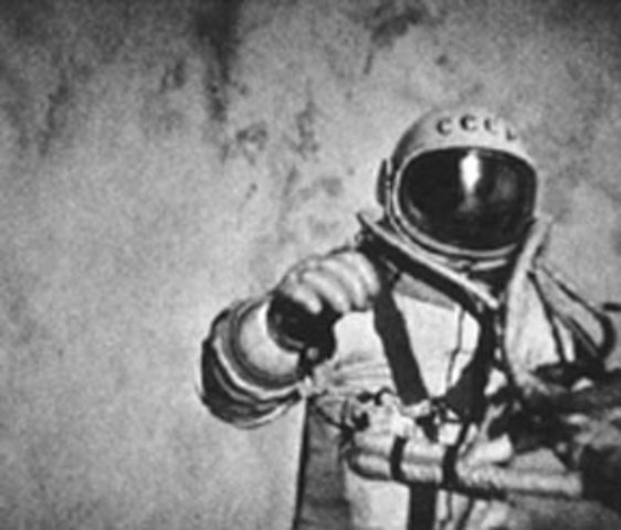 March 18, 1965: First Spacewalk
