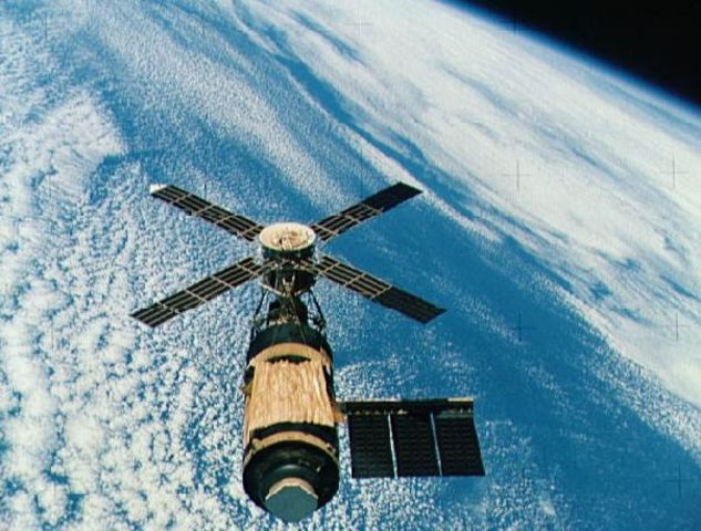 May 14, 1973: First American Space Station Launched