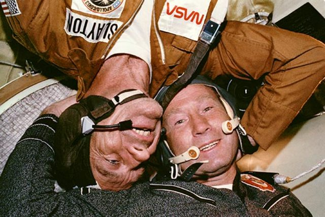 July 17, 1975: First International Space Rendezvous