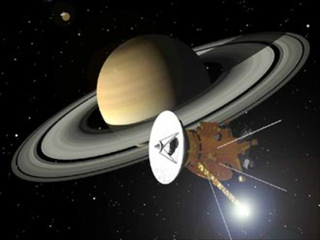 July 1, 2004: Arrival of Cassini Spacecraft at Saturn