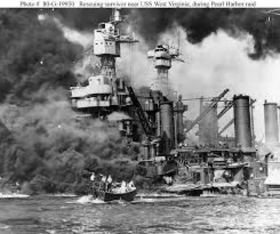 Japan atacked to Pearl Harbor