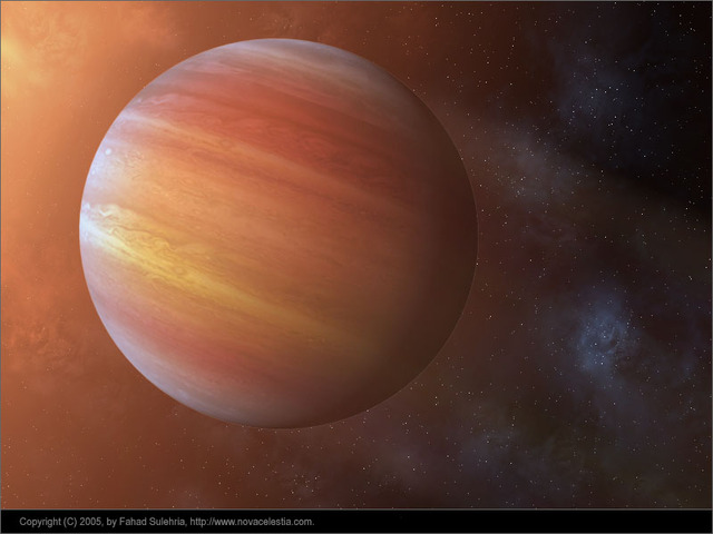 Extrasolar Gas Giant