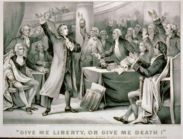 'Give me Liberty or Give me Death'