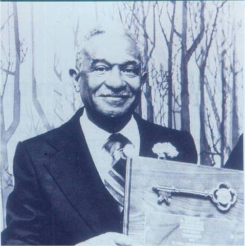 Milous Reese, Alabama Chiropractor of the Year, 1979