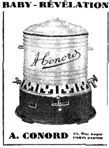 La première machine semi-automatique