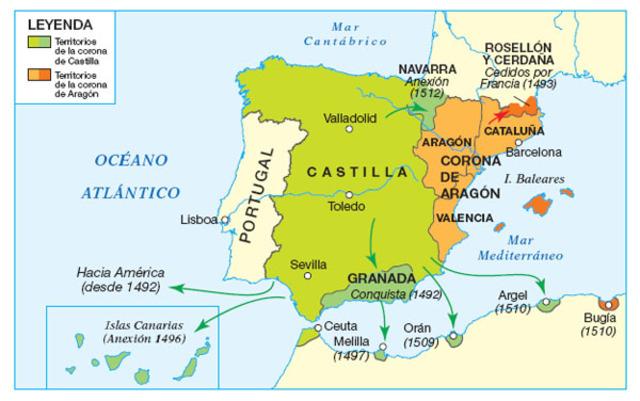 Unión de la dinastía de Aragón y Castilla