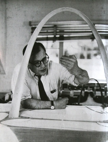 Eames was greatly influenced by the Finnish Architect Eliel Saarinen