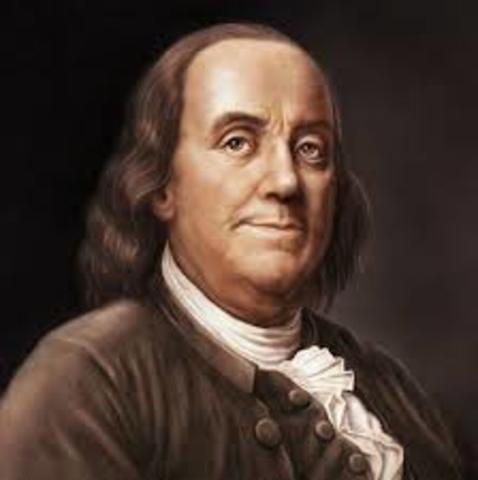 Benjamin Franklin Died