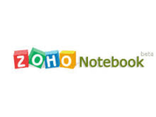 Zoho Noterbook