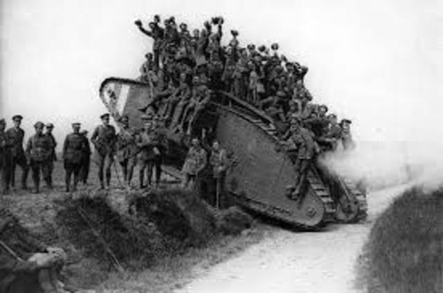 Entrada de Gran Bretana a la Guerra como aliado de Francia
