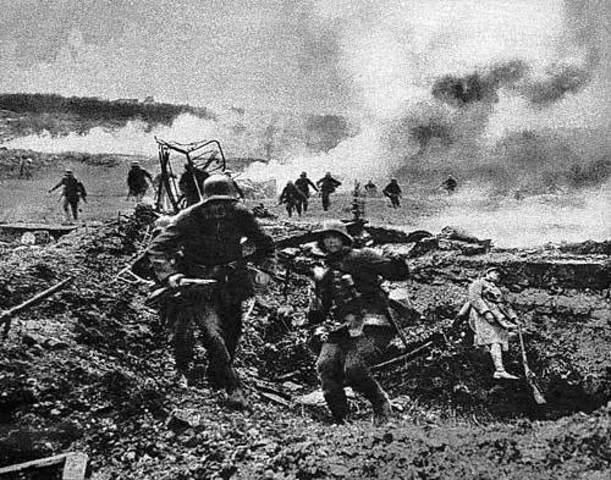 La derrota del ejercito Aleman en el frente Occidental