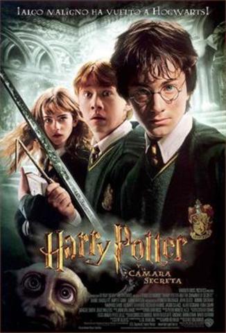 Película Harry Potter y la cámara secreta