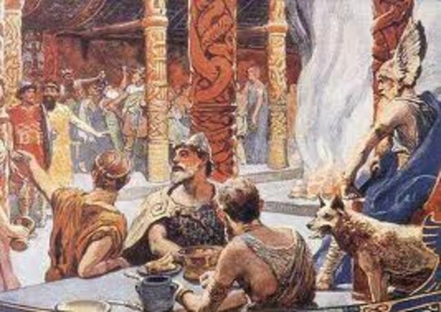 Grendel attacks Herot